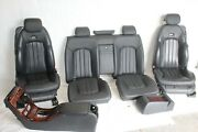 2005 Mercedes Cl55 W215 Coupe 183 Complete Interior Amg Leather Set Black