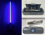 Star Wars Disney Galaxyandrsquos Edge Rey/anakin Lightsaber Stand And 36 Blade New