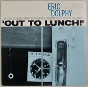 Eric Dolphy Out To Lunch Us Blue Note Jazz 1998 Modal Jazz Lp Nm- Vinyl
