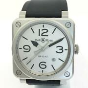 Free Shipping Pre-owned Bell And Ross Br0392-gbl Self-winding Limited Model