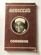 Rebecca's Cookbook Rebecca West 1942 Vintage Pb. Extremely Rare, Hard To Find.