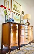 Vintage French Country Buffet/credenza/sideboard/entryway With Gorgeous Design