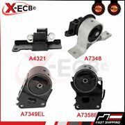 Engine Motor And Trans Mount For 2003 Nissan Murano Sl Sport Utility 4-door 3.5l