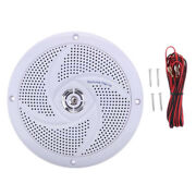 90 Db 4 Ω Audio Stereo Speakers Boat / Car Sound System - White