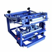 Us Manual Cylinder Curved Screen Printing Press For Cup/mug/bottle