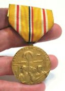 United States Ww Ii Asiatic Pacific Campaign Medal With Ribbon 1941-1945