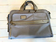 Tumi Soph Collaboration Briefcase Limited To Roppongi Canvas Blue