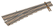 Walthers 948-83017 Ho Code 83 Nickel Silver Dcc Friendly 6 Turnout Left Hand