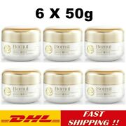 6x Bomul Snail Cream Egf Clear Revitalizing The Skin Bright Glowing Healthy 50g