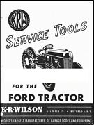1949 Ford Tractor Service Tools Manual P40