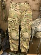 New Army Combat Pants W/ New Crye Knee Pads In Size Large Regular