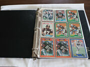 Lot Of 162 Nfl Football Cards Of Hall Of Fame Players 57 Diff Players In Album