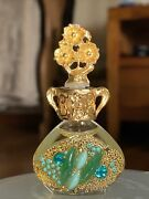 Vintage Adrian Designs Perfume Oil-every Bottle Is Unique•new/full•no Box•teal