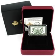 Canadaandrsquos Historical Stamps Coat Of Arms And Flags Andndash 20 1oz Silver Coin