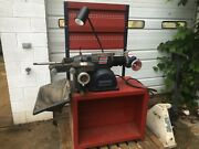 Ammco 4000sp Disc And Drum Brake Lathe W/ Bench And Adapter Set