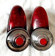 1954 Plymouth Tail Lights Housing Assembly Pair Genuine Plyaz 180