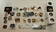 Wholesale Dealer Lot Large Military Challenge Coin Collection