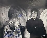 Frank Oz Mark Hamill Signed 16x20 Photo Star Wars Authnetic Autograph Becket A