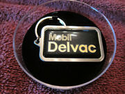 Rare Mobil Delvac Diesel Oil Xtreme Grease Transmission Keychain - Nos