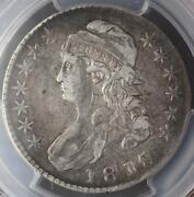 1818/7 Capped Bust Half Pcgs Vf35 Large 8 - Doublejcoin 3002-21