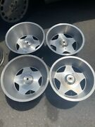 15 Wheels Rims Vintage Classic Staggered 15x10 15x8.5 Star 5 Wide Deep Set 4