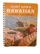 Signed And Inscribed Vintage Lucky Luck's Hawaiian Gourmet Cookbook 1971 1st