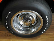 1968-1982 Corvette Rally Wheel Trim Ring, Stainless Steel With Four Clips