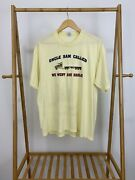 Vtg 80s Uncle Sam Called We Went And Hauled Trucking Truckers Thin T-shirt Xl