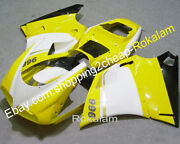 For Ducati 996 1996-2002 748 Yellow Black Aftermarket Abs Motorcycle Fairing Kit