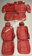2015 To 2021 Dodge Charger Sxt Rt R/t Custom Katzkin Leather Seat Covers - Red