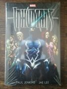 Inhumans By Paul Jenkins And Jae Lee Hardcover Hc Sealed/new 0785184740 Marvel