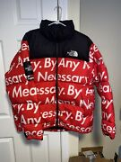 Supreme The Nuptse Red Xl Dswot Fw15