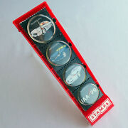 Mercedes Benz Iaa Motor Show Collectible Stamps Set Sport Car Accessory Watch