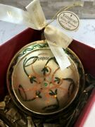Vtg Waterford Holiday Heirlooms Medallion 1st Edition Ornament 2005 279/500
