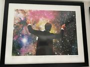 Joe Webb Super Conductor Silkscreen Print Very Rare And Long Sold Out. Only 100