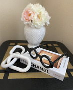 Faux Decorative Book Not A Real Book Luxury Brand Book Glasses Decor Wood Chain