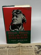 Baa Baa Black Sheep Hand Signed By Gregory Pappy Boyington Wwii Medal Of Honor
