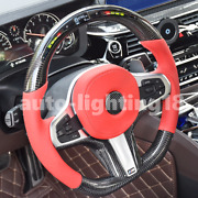 Real Carbon Fiber Led Performance Steering Wheel Compatible With Bmw G30