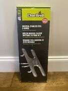 Char-broil Universal Fit Large Stainless Steel H Style Gas Burner Grill 6254