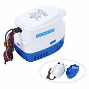 750gph Automatic Submersible Boat Bilge Water Pump Built-in Float Switch Esa 12v