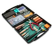 273 Pieces Leather Working Tools And Supplies With Leather Tool Box Cutting Mat