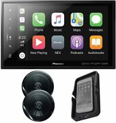 Pioneer Dmh-c5500nex 8'' Car Stereo Receiver+ Ts-g1620f Speakers And Phone Charger