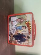 Vintage 1978 Aladdin Superman Lunch Box With Thermos Dc Comics Collectible ✨✨✨