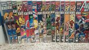 Avengers West Coast Lot Of 28 Bagged Boarded Nice Vf Vf/nm 48 52 53 54 59 60 63