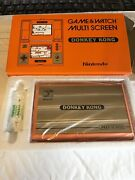 Vintage 1982 Nintendo Game And Watch Donkey Kong In Box Beautiful Condition Nes