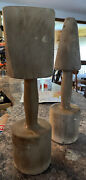 Antique/ Vintage Large Wooden Sand Cast Hand Rammer Foundry