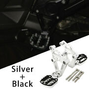 Silver Motorcycles Footrest Foot Pegs Cnc Footpegs For For Honda Xadv750