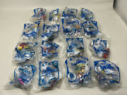Mcdonalds Smurfs Movie Toys/complete Set Of 16/sealed New/free Shipping