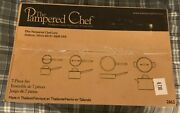 Pampered Chef Executive Cookware 7 Piece Set 2862 Discontinued Factory Sealed