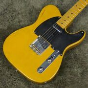 Fender Japan Tls-52 120 Extrad Butterscotch Blonde Andlsquo1988 52 Telecasters Of The